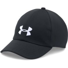 Under Armour Women\'s UA Renegade Cap ($22) ❤ liked on Polyvore featuring accessories, hats, cap hats, adjustable caps, under armour cap, stretch hat and under armour hats