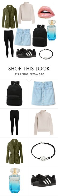 """""""Hike tour"""" by style-toni ❤ liked on Polyvore featuring Vans, Gap, Boohoo, Vanessa Seward, LE3NO, Alex and Ani and adidas"""