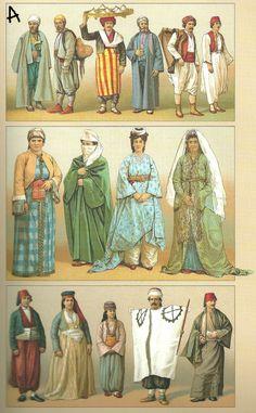 Ottoman Empire costume reference 1888