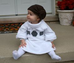 Tiny Princess Leia costume for your tiny baby needs (via The Mary Sue) #starwars | Geek / Tech | Pinterest | Leia costume Mary sue and Princess leia  sc 1 st  Pinterest & Tiny Princess Leia costume for your tiny baby needs (via The Mary ...