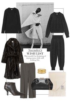 70s Fashion, Autumn Fashion, Fashion Looks, Fashion Outfits, Wardrobe Basics, Capsule Wardrobe, Minimal Fashion, Modern Fashion, Jumper