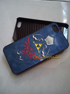 The Legend Of Zelda Triforce iPhone 5C Case, iPhone 5S/5 Case, iPhone 4S/4 Case, Samsung Galaxy S3/S4, Premium Case Cover