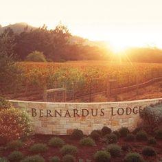 Bernardus Lodge—Carmel Valley, California. #Jetsetter