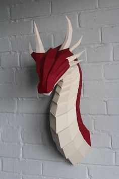 Papercraft Fire Dragon Northpoly Pepakura Lowpoly Low - Papercraft Fire Dragon Northpoly Pepakura Lowpoly Low Polygon D Papercraft Papercraft Trophy Handmade Paper Sculptures Diy Origami Eng Electronic File Pdf Format Paper Art Model Of The Str Dragon Origami, Instruções Origami, Paper Crafts Origami, Origami Flowers, Diy Paper, Origami Dress, Oragami, Dragon Crafts, Paper Dragon Craft
