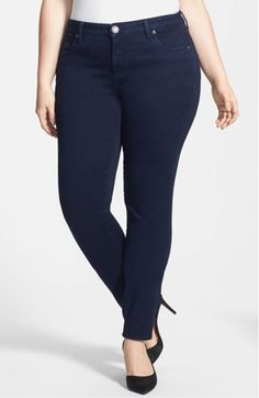 b933c3ab268 KUT from the Kloth Diana Skinny Cheap Plus Size Jeans