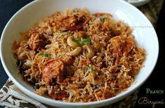 Ruchik Randhap (Delicious Cooking): Prawn Biryani ~ When The Hubby Cooks!