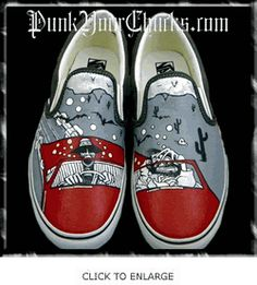 Fear   Loathing in Las Vegas Custom Hand Painted Vans 0b1a153f46