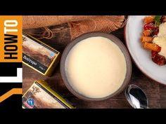 Πώς να φτιάξουμε μπεσαμέλ   Γιάννης Λουκάκος Glass Of Milk, Dairy, Cheese, Watch, Food, Youtube, Clock, Bracelet Watch, Essen
