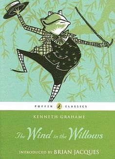 The Wind in the Willows, celebrating more than 100 years in print. One of the 100 Greatest Books for Kids (a list by Parent & Child magazine in its March 2012 issue). For ages 8-10.