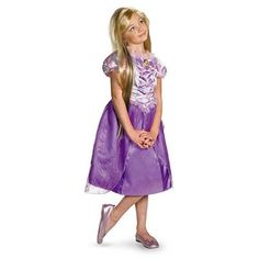 Rapunzel Tangled costume with a blond wig. Perfect for a little princess #rapunzel #  sc 1 st  Pinterest & 63 best Girls Costume Ideas images on Pinterest | Costume ideas ...