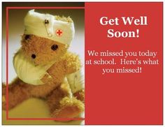 Vista Print - Real Classroom Ideas get well soon, here's what you missed: