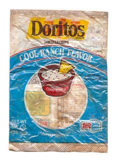 Doritos in the See-Through Bag