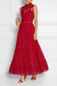 Vestidos de fiesta rojos 2016: Un look de invitada perfecto Image: 0
