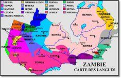 distribución del idioma bemba y por consiguiente de esta etnia