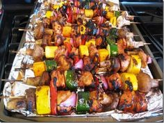 Simply Filling Kabobs & My Camping Menu- weight watchers