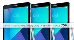 Gewinne mit babista.ch 3x1 Samsung Tab S3 im Wert von jeweils CHF 800.-.  https://www.alle-schweizer-wettbewerbe.ch/gewinne-3x1-samsung-tab-s3/