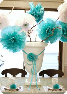 Darling party centerpiece
