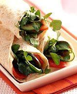 Lunch Ideas:  WW 3 point California Club Wrap
