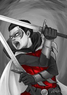 Damian Wayne A.K.A ROBIN WHY DID DC COMICS HAVE TO KILL HIM WHHY