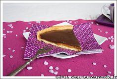 Tarte caramel et chocolat   Marmotte cuisine !