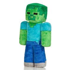 """Hot Minecraft 7"""" Zombie Plush Toy for all Minecraft fans and players. Minecraft Holiday Christmas gift."""