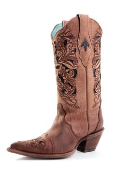 Cheap Cross Western Boots   Ferrini Glitter Cross & Wing Inlay ...