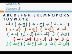 "Learn Kurdish (Sorani) with Sarmad Kinany 05 ""Alphabet"""