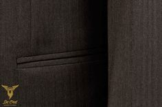 150's Herringbone Suit — De Oost Bespoke Tailoring
