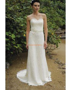 Augusta Jones 2013 Glamouröse Lange Hochzeitskleider aus Spitze