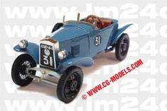 LE MANS 1923 - SARA ATS #31 -  Francois Piazzoli - André Marandet   - Modello SLM43