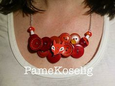 Hey, I found this really awesome Etsy listing at https://www.etsy.com/uk/listing/271379979/red-buttons-necklace-with-fox-and