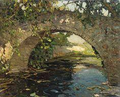 Arche au matin sur la gapeau (Hyères), Louis Bonamici. French (1880 - 1966) (4) Tumblr