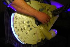 Star Wars Millennium Falcon Guitar