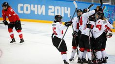 Women's Hockey Team Canada pulled off a 3-1 victory over Switzerland in their semifinal Monday to lock up a spot in the Olympic gold medal match for a fifth straight time.