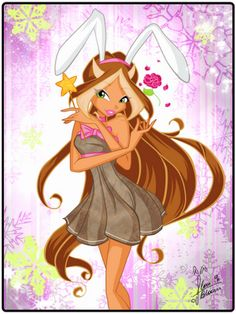 Musa New Year Bunny by florainbloom on DeviantArt Boy Character, Character Design, Pixie, Las Winx, Flora Winx, Girls Are Awesome, Bloom Winx Club, Barbie Movies, Clay Figures