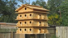 Items similar to Purple Martin House 3 Story on Etsy Purple Martin House Plans, Martin Bird House, Purple Martin Birdhouse, Bird House Feeder, Bird Feeders, Bird House Plans, Wood Bird, Box Houses, Backyard Birds