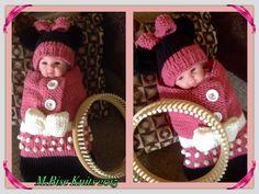 ePattern: Baby Minnie Cuddle Sack