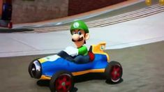 An Amusing Video of Luigi Blasting Waluigi in the Video Game 'Mario Kart 8' Set to the Song 'Ridin'' by Chamillionaire