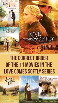 A List of The Correct Order of the 11 Movies in The Love Comes Softly Series