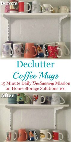 How to #declutter co