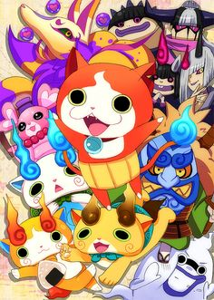 youkai watch! by nyamuneko on DeviantArt