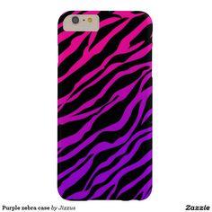 Purple zebra case