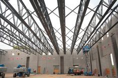 Medium Steel Structure Trusses (Industrial Roofing)