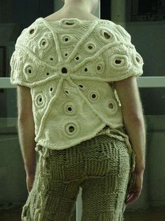 Barnacle Knitwear: Martello's Marine-Inspired Sculptural Collection