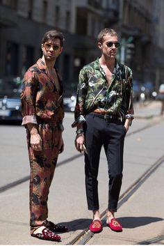 FASHIOnEles MILAN Men Fashion Week Street Style A milanesa…