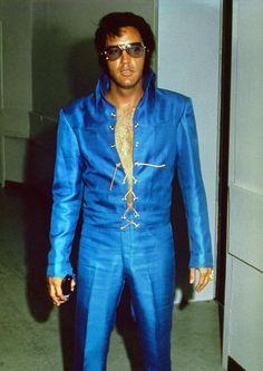 Elvis - incredible shot of an incredible man.