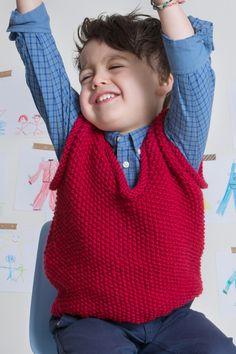 Hier kommt eine Strickanleitung für einen Kinder Pullunder im Perlmuster. Geht ganz einfach zu stricken. Fast Weight Loss Diet, Weight Loss Detox, Fashion Group, Kids Fashion, Ärmelloser Pullover, Healthy Breakfast For Weight Loss, Yoga Leggings, Polka Dot Top, Knit Crochet