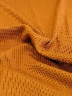 Light Weight Modal Rib Knit - Warm Ochre – Sitka Fabrics