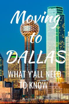 Moving to Dallas? Here's what you need to know before you move to the DFW area including neighborhoods, drivers license, car registration and electricity. Welcome to the Big D! Moving To Dallas, Moving To Texas, Texas Vehicle Registration, Best Places To Move, Electricity Usage, Fort Bend, Electrical Plan, The Good Place, Need To Know