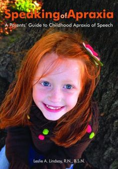 Childhood Apraxia of Speech Need this book